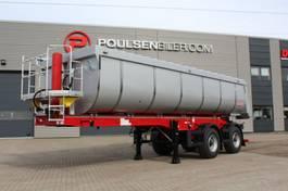 kipper oplegger Langendorf 2-axle 25m3 Hardox asphalt tip trailer