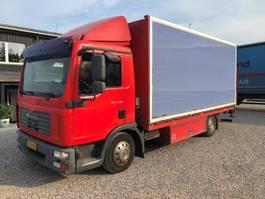 bakwagen vrachtwagen MAN 12-180 2008