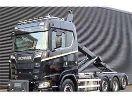 containersysteem vrachtwagen Scania S 650 XT 8x2/6 koukkuauto 2020