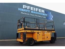 schaarhoogwerker wiel Haulotte H12SX Diesel, 4x4 Drive, 12m Working Height, 700 k 2008