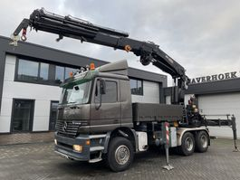 kraanwagen Mercedes-Benz 3343 AK 6x6 HIAB 550 - 6 + 4 winch remote controll