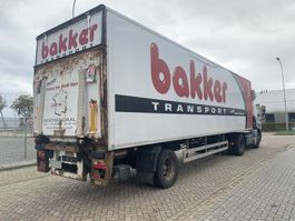 gesloten opbouw oplegger Hertoghs 1 Assig trailer Gesloten Bak 1996