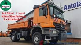 kipper vrachtwagen > 7.5 t Mercedes-Benz Actros 1832 4x4 Meiller 3S. 2xArbeitsplatte 1.Hd 2006