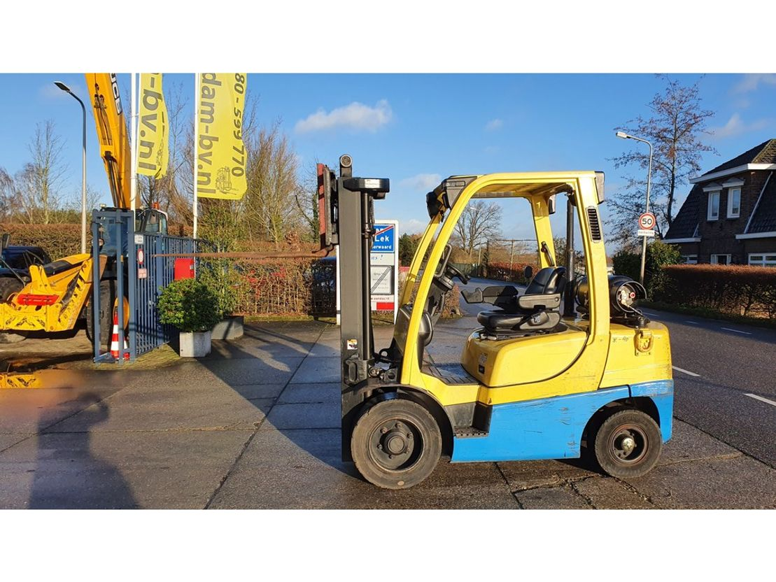 vorkheftruck Hyster H3.0FT 3 ton LPG low hours! 2007