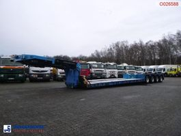 dieplader oplegger Goldhofer 4-axle lowbed trailer 94T//STZ-VHH-47/80A//4 steering axles 2004