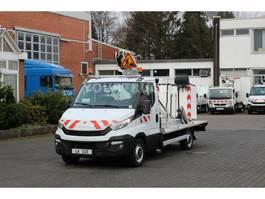 hoogwerker bedrijfswagen Iveco Daily Bühne Versalift 13m /2 P.Korb 200kg/HU+UVV 2015