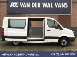 gesloten bestelwagen Volkswagen Crafter 35 2.0TDI 164pk L2H1 2x-Schuifdeur | Airco 3500kg-Trekhaak Cruisecontrol... 2013