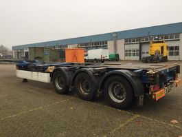container chassis oplegger Krone SD27 container  multi  uitschuifbaar 2004