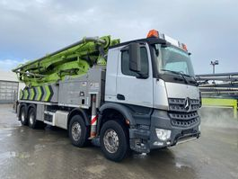 betonpomp vrachtwagen Mercedes-Benz 4145 Putzmeister 47m- BSF47-5.16 HLS- EBC-Euro 6 2015
