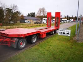 dieplader oplegger Kel-Berg D40S4 30/40 ton maskin/blokvogns hænger 2003