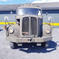 leger vrachtwagen Saurer Berna-2DM 1965