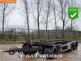 container chassis aanhanger GS Meppel AC-2800 L 3 axles 2001