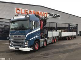 kraanwagen Volvo FH 16.650 8x4 HMF 85 ton/meter laadkraan + Fynkar 3-assige aanhanger 2017