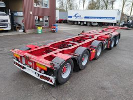 container chassis oplegger Broshuis 2 CONnect - 2AKCC + 3AKCC - 5-assen SAF - Drumbrakes - LED lights (O488) 2010