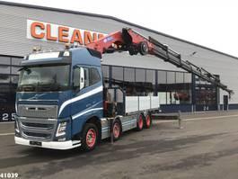 kraanwagen Volvo FH 16.650 8x4 HMF 85 ton/meter laadkraan 2017