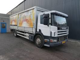 huifzeil vrachtwagen Scania P 310 MANUEL/MANUAL 1999