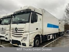 koelwagen vrachtwagen Mercedes-Benz 2542  Schmitz Rohrbahn Carrier U1100 2015
