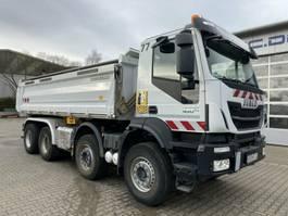kipper vrachtwagen > 7.5 t Iveco TRAKKER 450 8x4 Euro 6 Kipper Bordmatic Meiller 2016