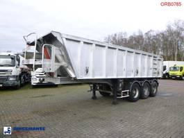 kipper oplegger Fruehauf Tipper trailer alu 24.5 m3 1998