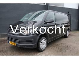 gesloten bestelwagen Volkswagen Transporter 2.0 TDI L2H1 Dubbele Cabine - Airco - Cruise - 6 Pers.  € 14.950.- Ex. 2017