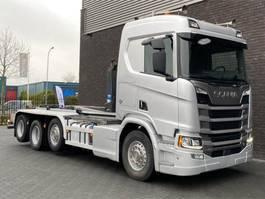 containersysteem vrachtwagen Scania R520 8x2 Next Gen 2008