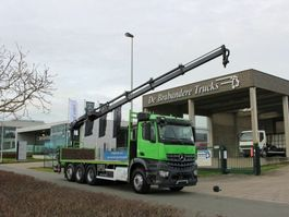 open laadbak vrachtwagen Mercedes-Benz AROCS 3240 8x4 - EURO 6 - 170.690 km - HIAB 166 E-4 met afstandsbediening 2014
