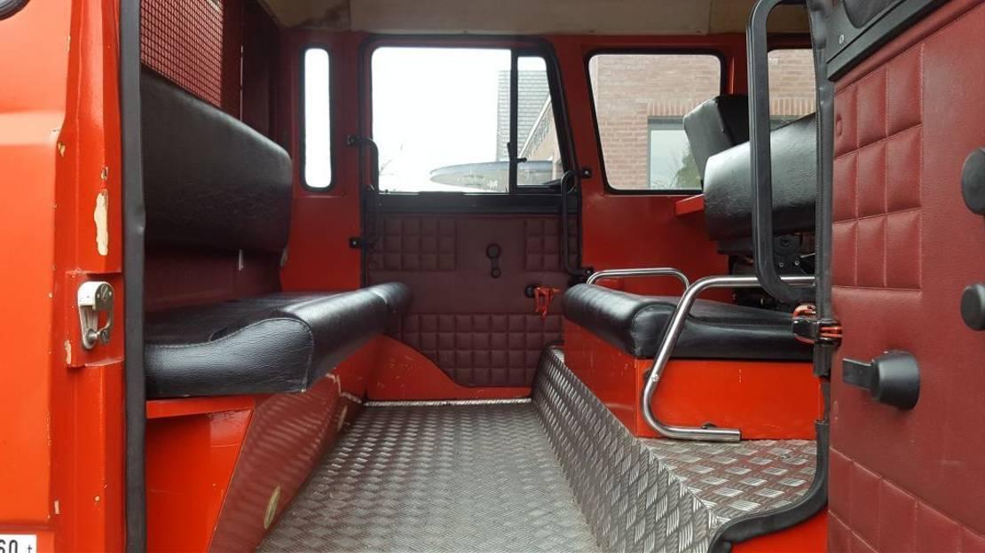 brandweerwagen vrachtwagen Iveco 165 - 240pk. 1986