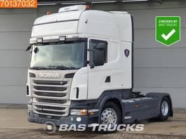 standaard trekker Scania R440 4X2 Retarder ACC Standklima 2x Tanks Euro 5 2013