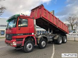 kipper vrachtwagen > 7.5 t Mercedes-Benz Actros 4140 8x8 - Full steel - Manual - Big axles 1997