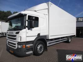bakwagen vrachtwagen Scania P250 4x2 Gesloten bak met klep Euro 6 2014