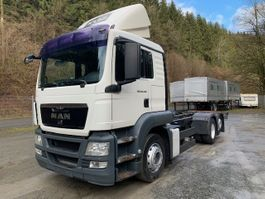 chassis cabine vrachtwagen MAN 26.440 TGS ** EURO5 EEV/Liftachse/Radstd. 4,5 m ** 2010