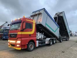 containersysteem vrachtwagen MAN TGX 28.480 6X2 NCH Combi Tipper Manual Gearbox 2009