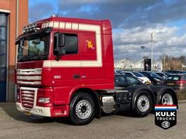 standaard trekker DAF XF 105.460 SC ATe / 6X2 / ONLY 640TKM!! NL TRUCK / NEW TUV 2012