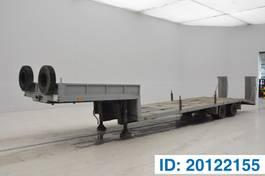 dieplader oplegger Varmo Low bed trailer 1971