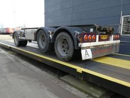 container chassis aanhanger Bulthuis Container aanhangwagen