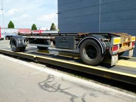 container chassis aanhanger GS Meppel Container aanhangwagen