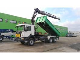 kipper vrachtwagen > 7.5 t Scania P410 2015