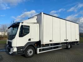 bakwagen vrachtwagen Volvo VOLVO FL260 4X2 EURO 6  FULL SIDE OPENING 2018