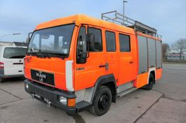 overige vrachtwagens MAN L2000 10.224 LC LHF 16/12 4X2 DoKa FEUERWEHR LÖS 1997
