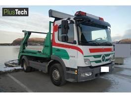 containersysteem vrachtwagen Mercedes-Benz Atego 1329 2010