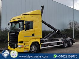 containersysteem vrachtwagen Scania R450 vdl,6x2*2 scr only 2016