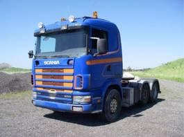 standaard trekker Scania R 124 LA 400 HK. 1999