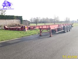 container chassis oplegger Kaiser Container Transport 1992