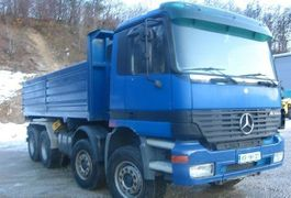 kipper vrachtwagen > 7.5 t Mercedes-Benz ACTROS 3243 8X4 TIPPER - BORDMATIC - PERFECT 2002