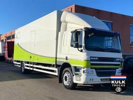 bakwagen vrachtwagen DAF CF 65 250 EEV / BOX TRUCK 18T / teruggekeurd 12T 2013