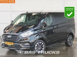 gesloten bestelwagen Ford Transit Custom 2.0 TDCI 185PK Sport Dubbel Cabine Navi Camera Xenon L1H1 3m3 A/C...