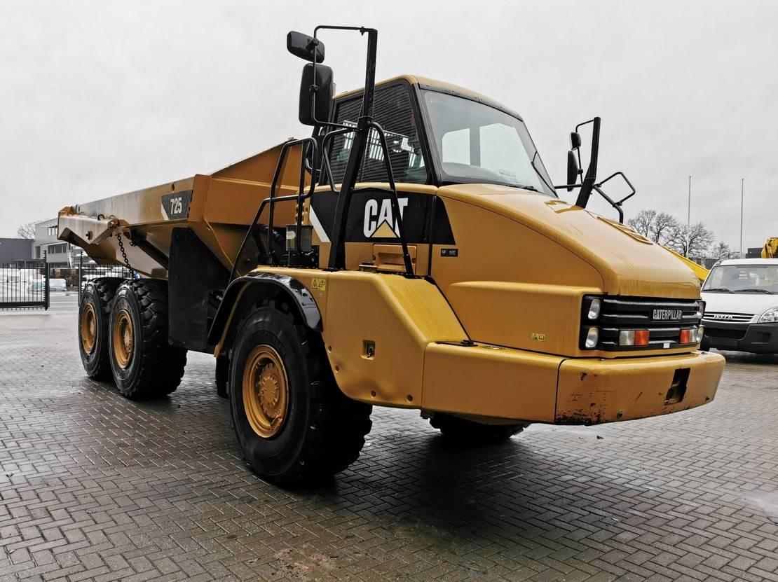 wieldumper Caterpillar 725 6x6 Tailgate Bodyheating! 2011