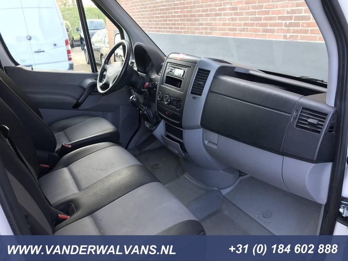 platform bedrijfswagen Volkswagen Crafter 35 2.0TDI 140pk L3 Dubbele Cabine 7-persoons | Airco Trekhaak-3500kg 2017