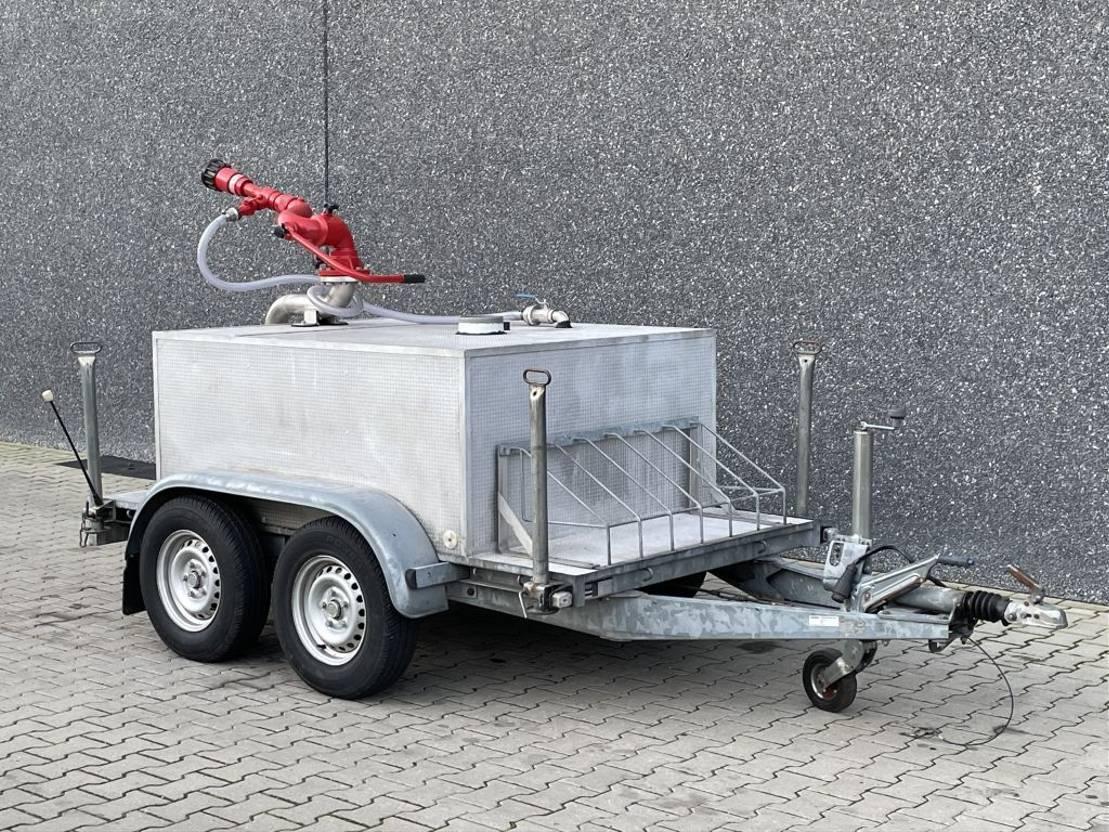 overige aanhangwagen Hapert K2000 / Brandweer / Bronco opbouw / Tank + Spuit kanon 2003