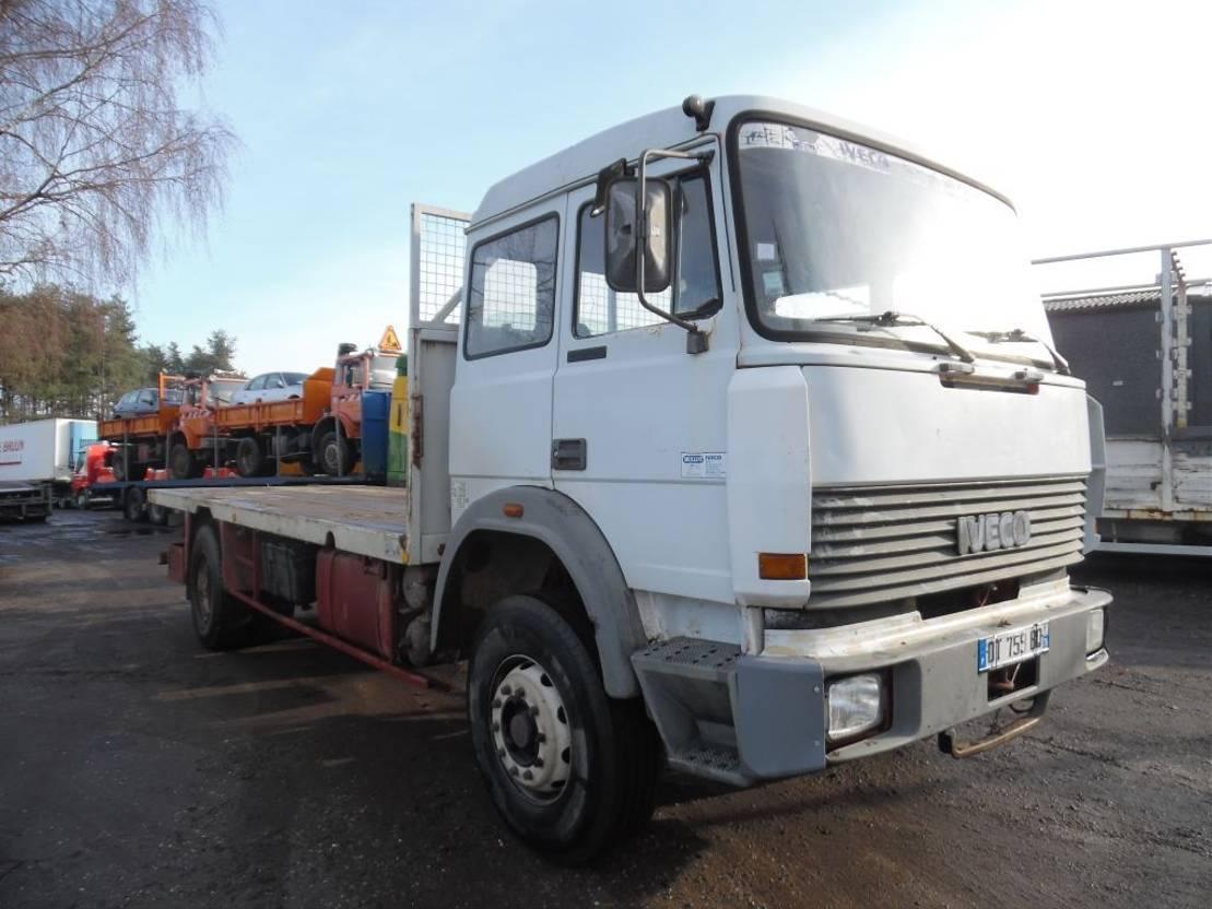 platform vrachtwagen Iveco 190-26 plateau 1988